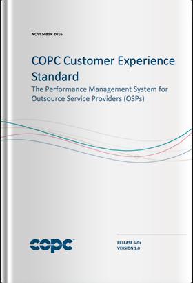 COPC CX標準 OSP版6.0a 英文版(2016年11月發行版)