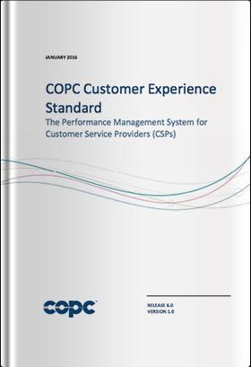 COPC CX規格 CSP版 リリース6.0英語版(2016年1月発行版)