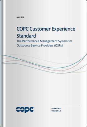 COPC CX規格 OSP版 リリース6.0 英語版(2016年5月発行版)