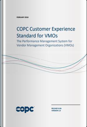 COPC CX規格 VMO版 リリース6.0a 英語版(2018年2月発行版)